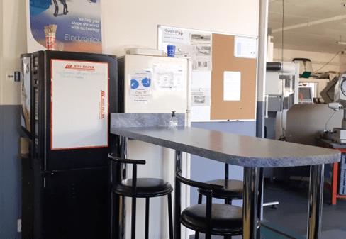 espace pause café trajectoire formations techniques